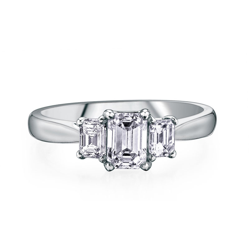 of rings present ring future wedding three stone engagement past best settings